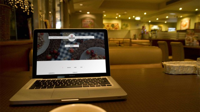 Crown Restaurant Website
