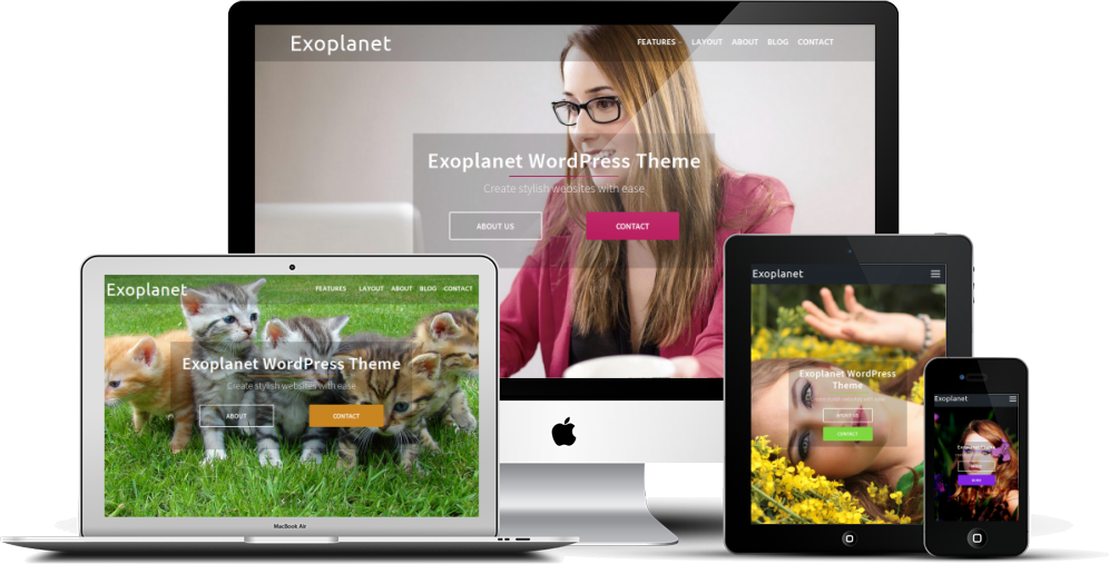 Exoplanet WordPress Theme