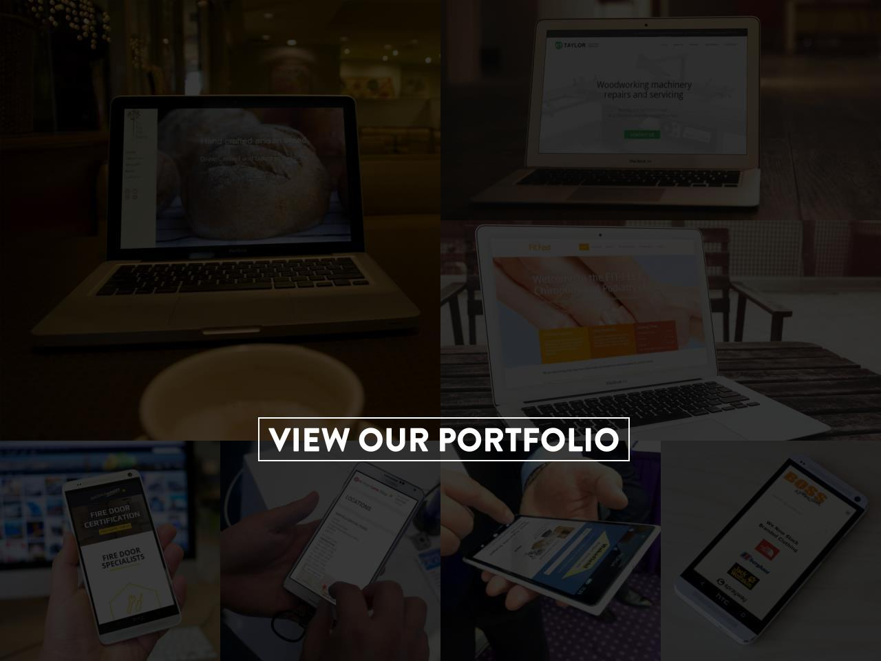 Portfolio on Various Devices