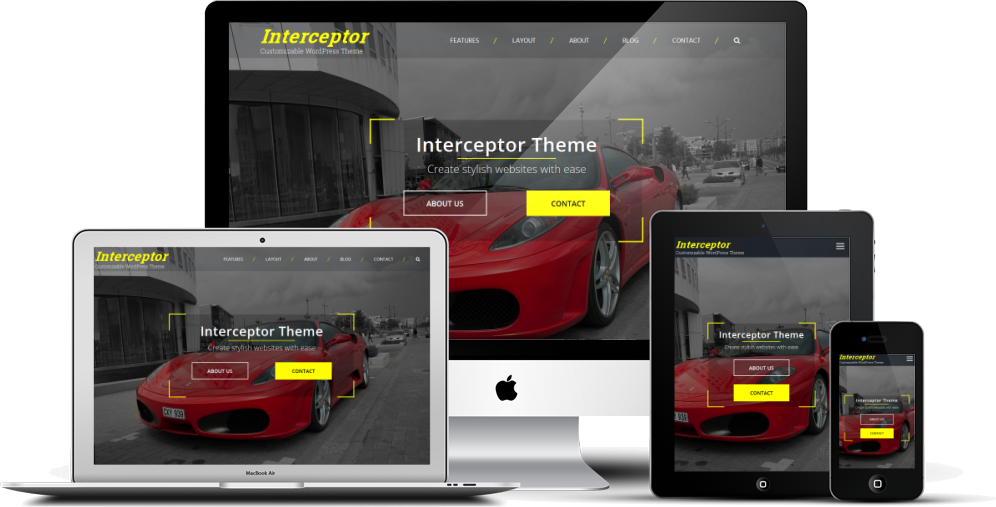 Interceptor WordPress Theme
